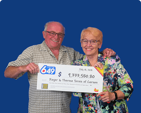 GAGNANTS RÉCENTS À Lotto 6/49 - Roger & Therese