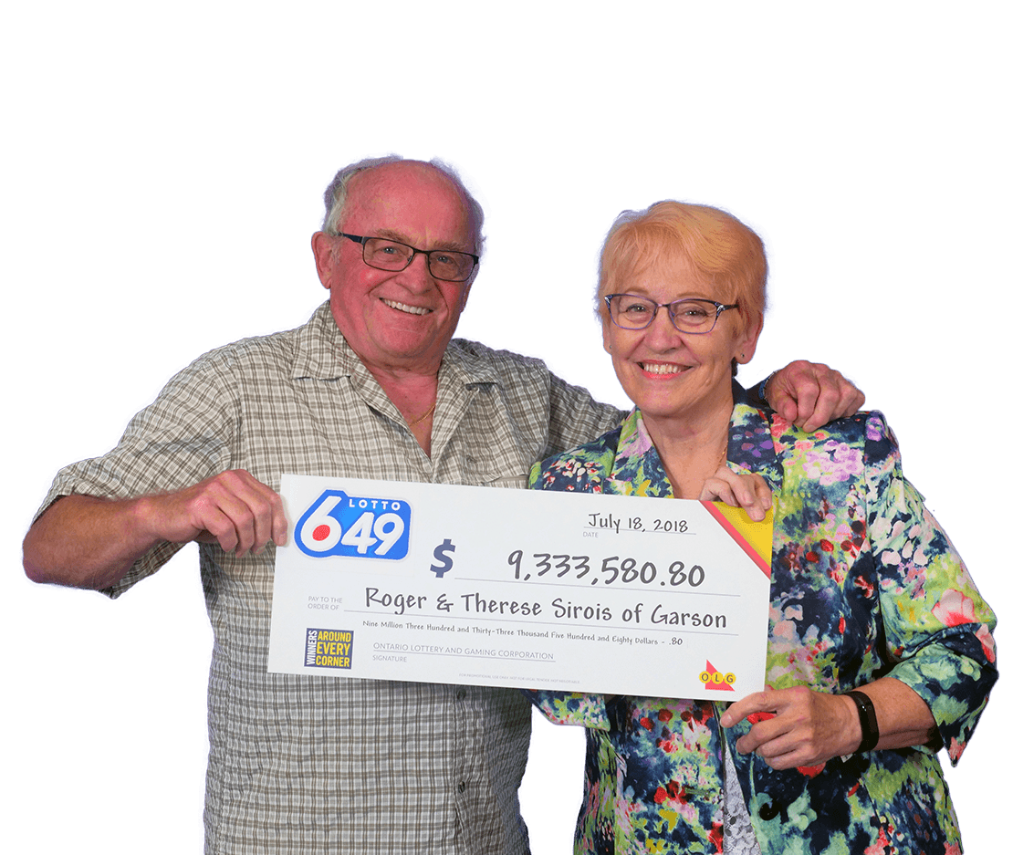 RECENT Lotto 6/49 WINNERS - Roger & Therese