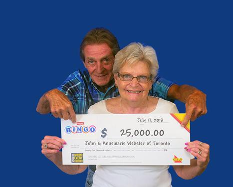 RECENT Instant WINNERS - Annemarie & John