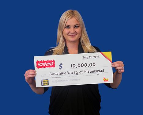 RECENT Instant WINNER - Courtney