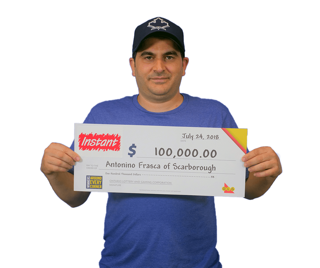 RECENT Instant WINNER - Antonino
