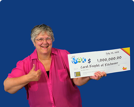 RECENT Lotto Max WINNER - Carol