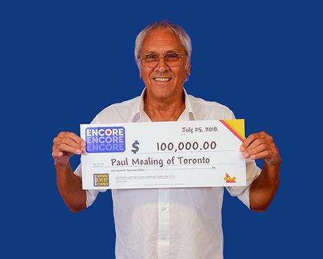 RECENT Encore WINNER - Paul