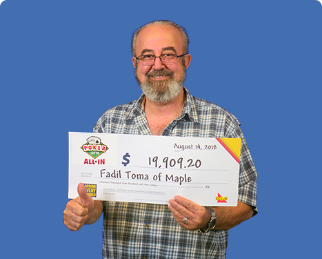 GAGNANT RÉCENT À Poker Lotto - Fadil