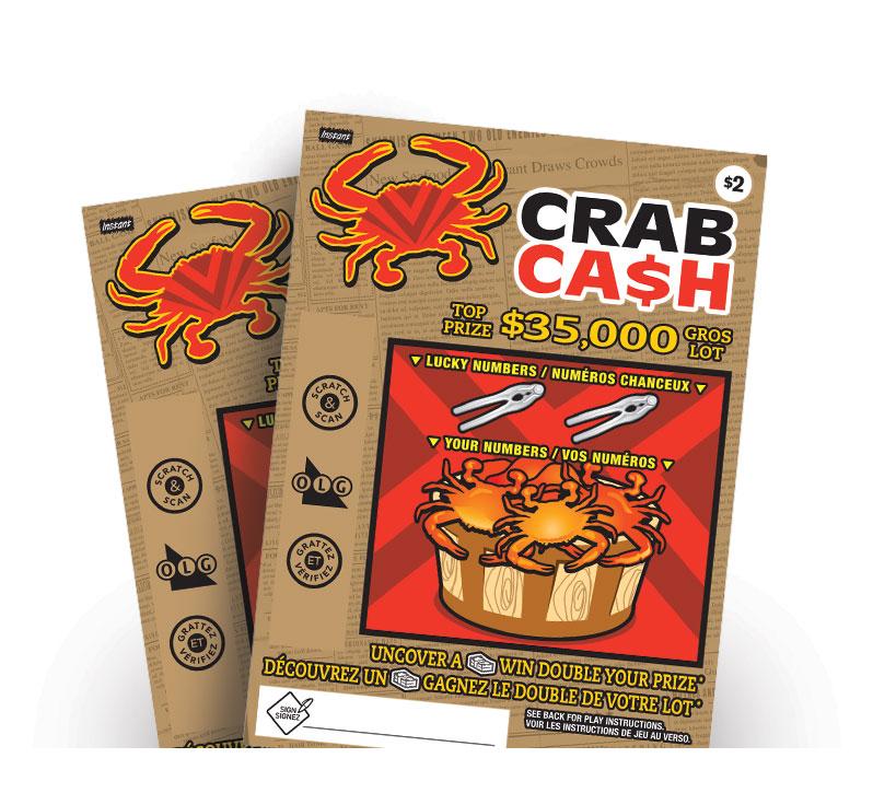 Crab Cash tickets