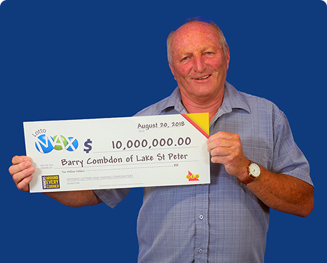 RECENT Lotto Max WINNER - Barry