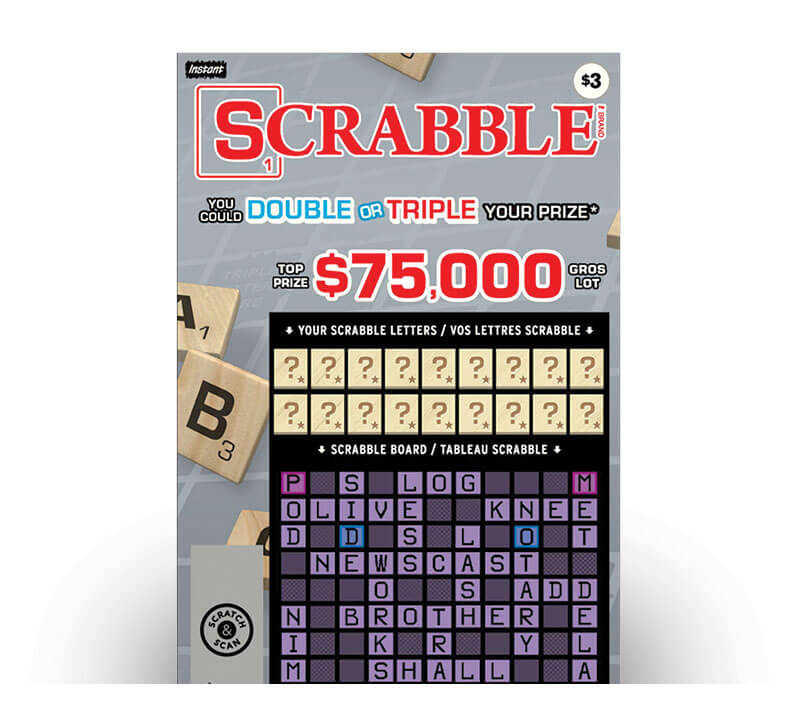 Scrabble 2079 ticket