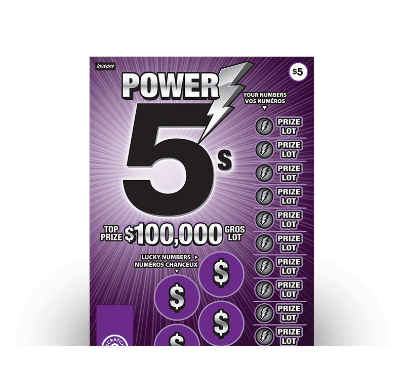 Power 5s 2085 ticket