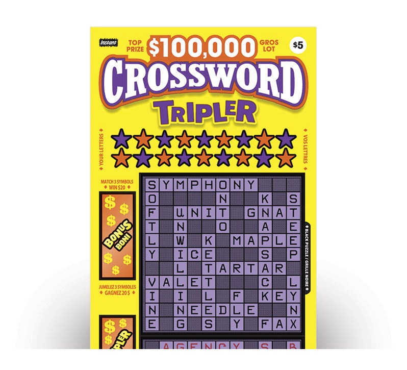 Crossword Tripler 2092 ticket