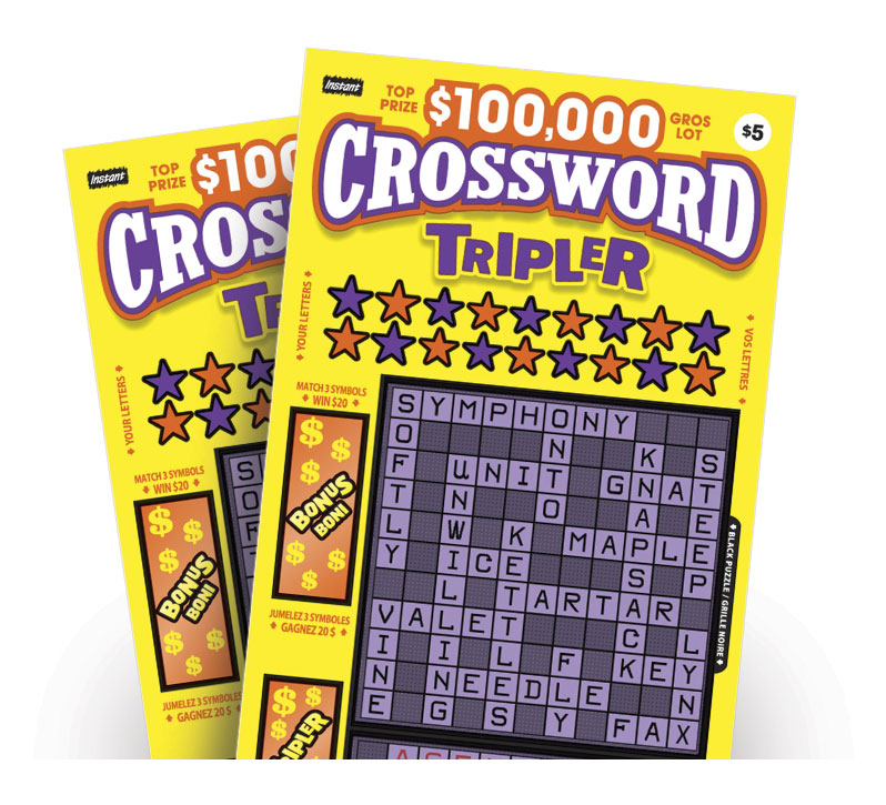 Crossword Tripler 2092 tickets