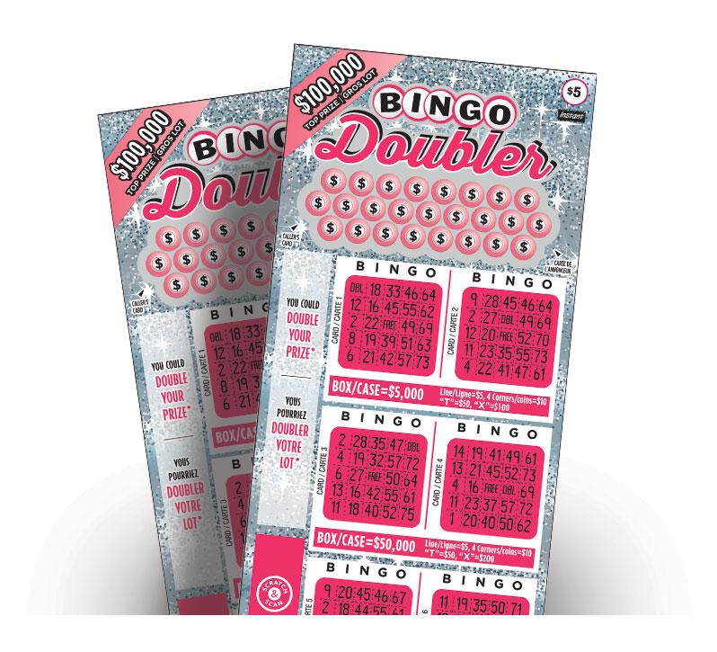 Bingo Doubler 2094 tickets