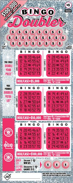 Bingo Doubler 2094 ticket
