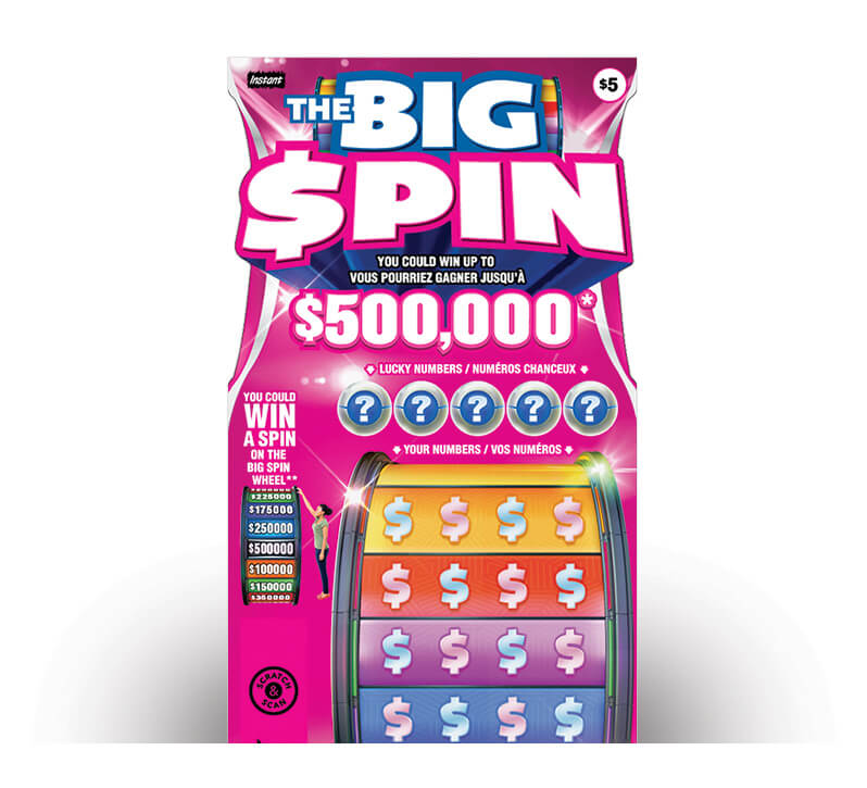 The Big Spin 2109 ticket