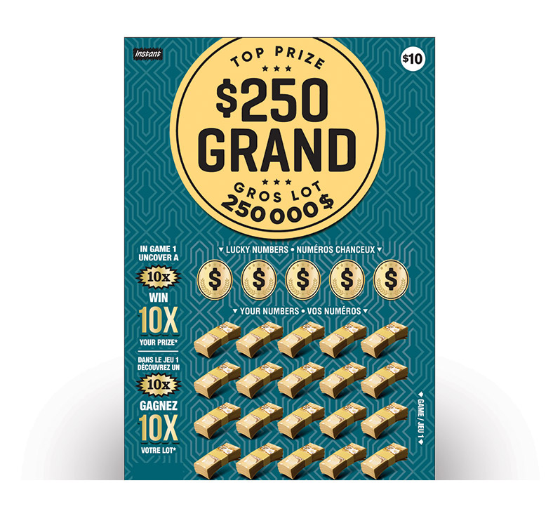 Billet $250 Grand 2111 ticket