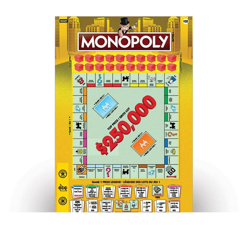 Monopoly 2112 ticket