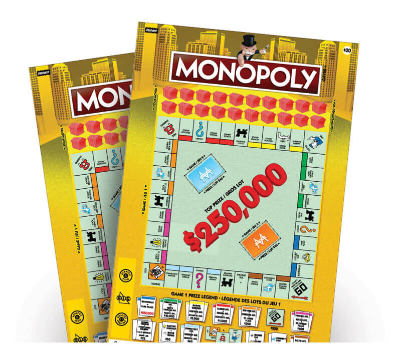 Monopoly 2112 tickets