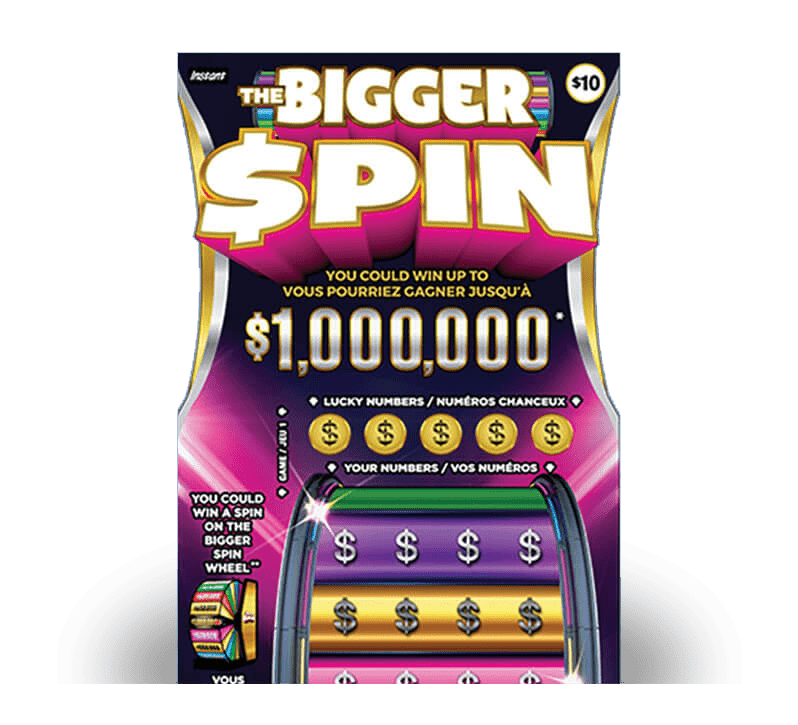The Bigger Spin 2125 ticket