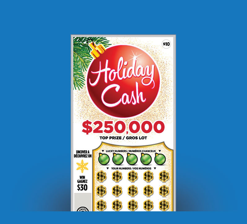 Holiday Cash 2128 ticket