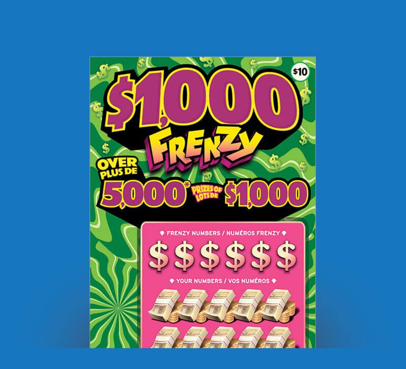 1000 Frenzy 2131