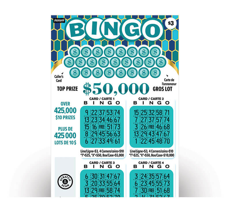 Instant Bingo 3028 ticket