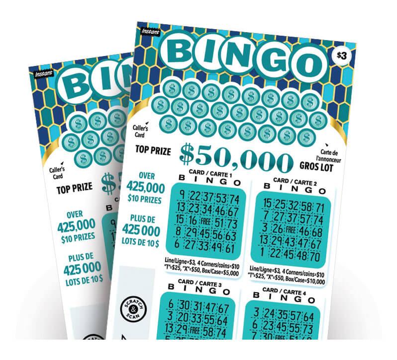 Instant Bingo 3028 tickets