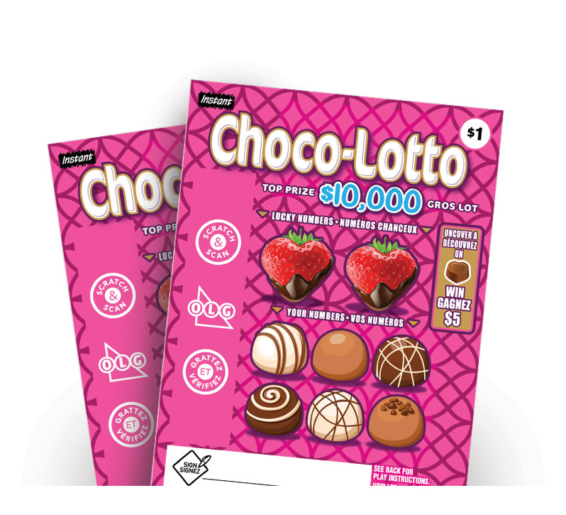 Choco Lotto 2127 tickets