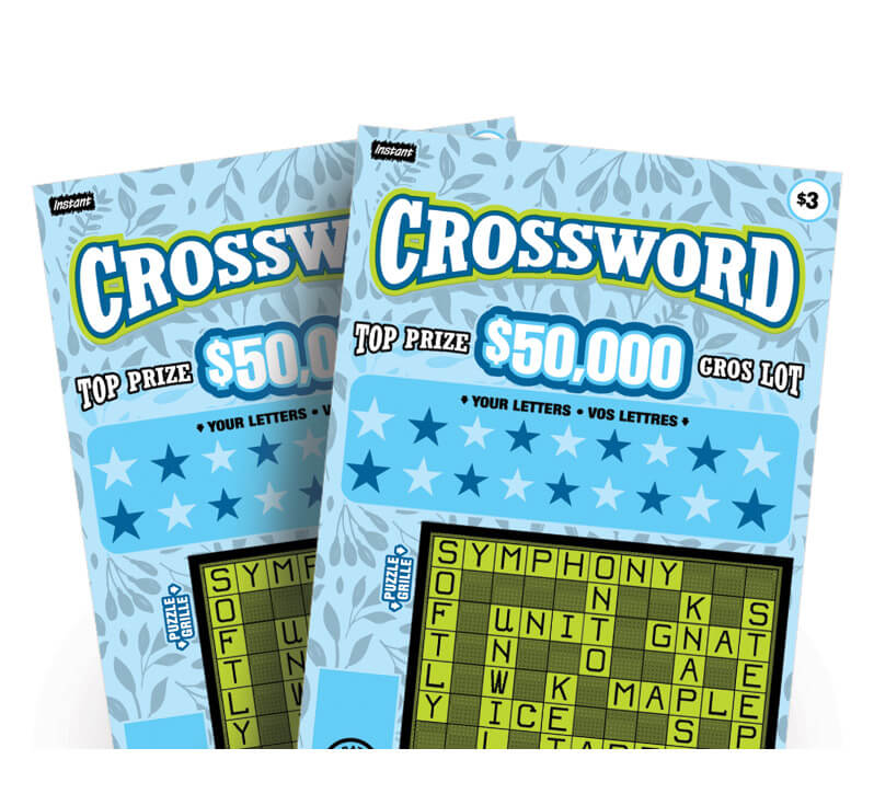 deux billets Instant Crossword 3224