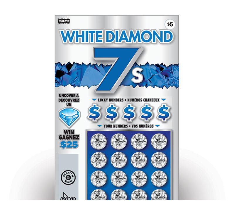 white diamond 7s 2095 ticket