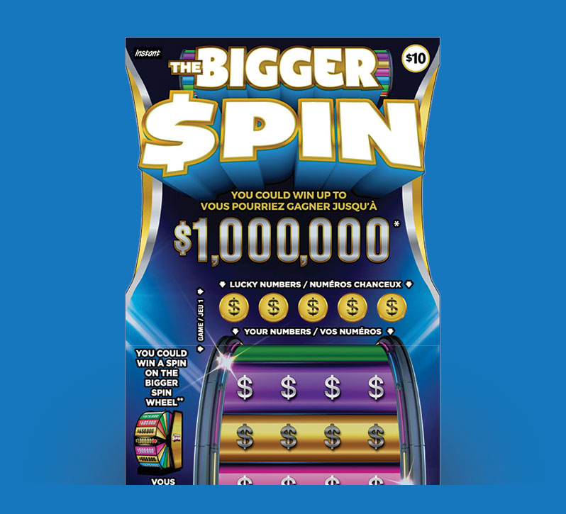 The Bigger Spin 2124 ticket