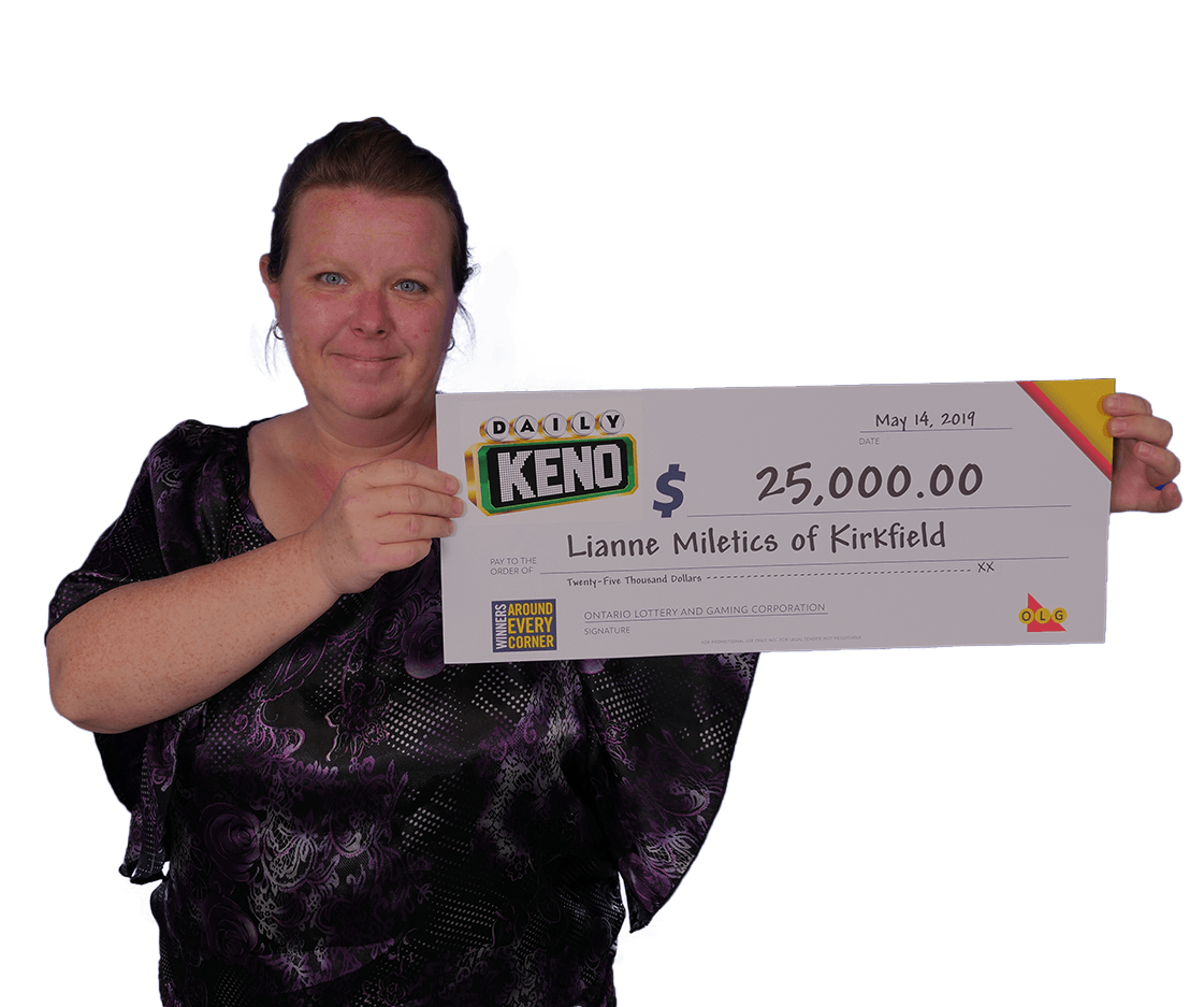 Gagnante à daily keno
