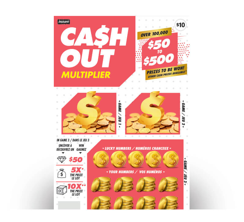 Cash Out Multiplier 2157 ticket