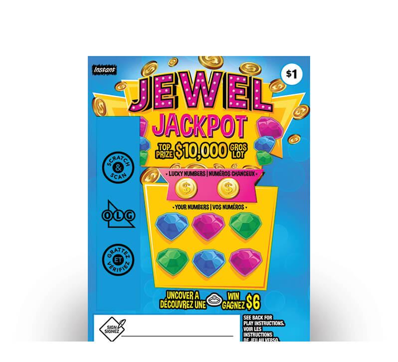 Jewel Jackpot 2160 ticket
