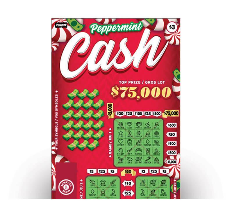 Peppermint Cash 2167 ticket