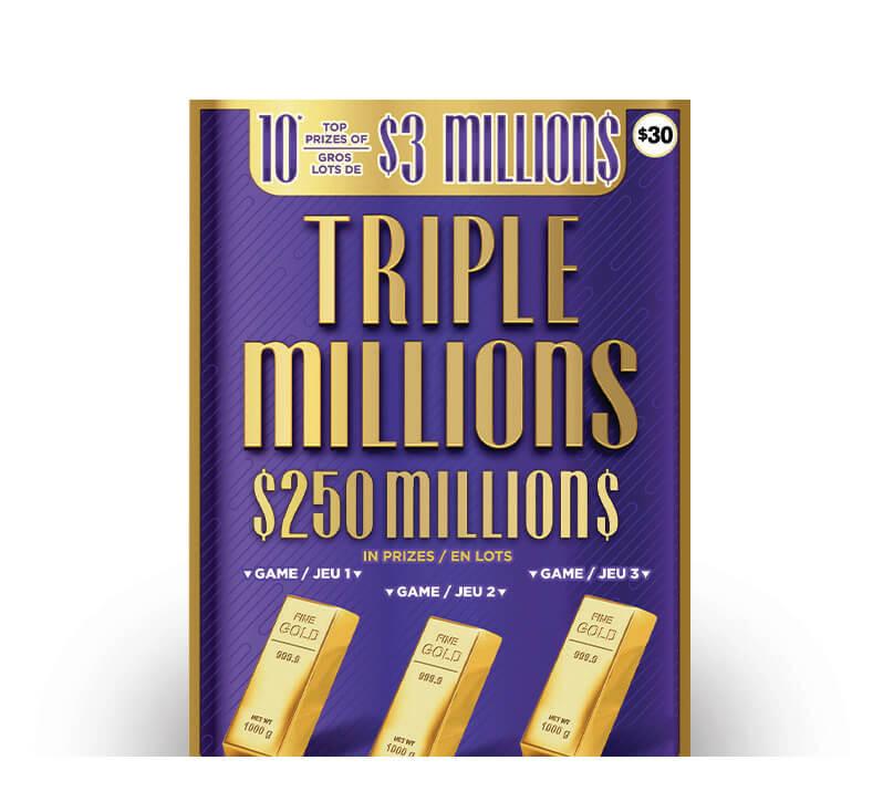 Triple Millions 2055 ticket