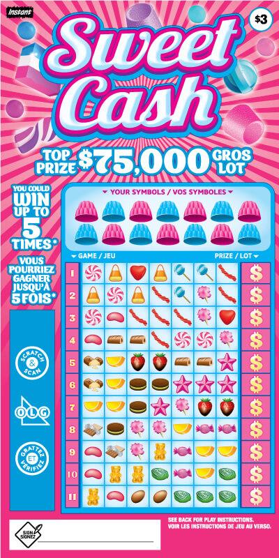 Sweet Cash 2076 ticket