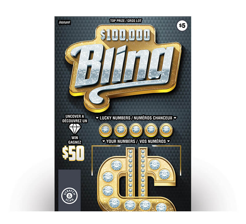 $100,000 Bling 2098 ticket