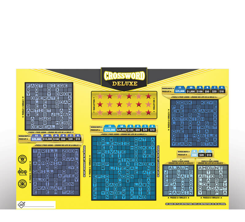 Crossword Deluxe 2113 ticket