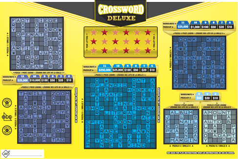 Crossword Deluxe 2113 ticket