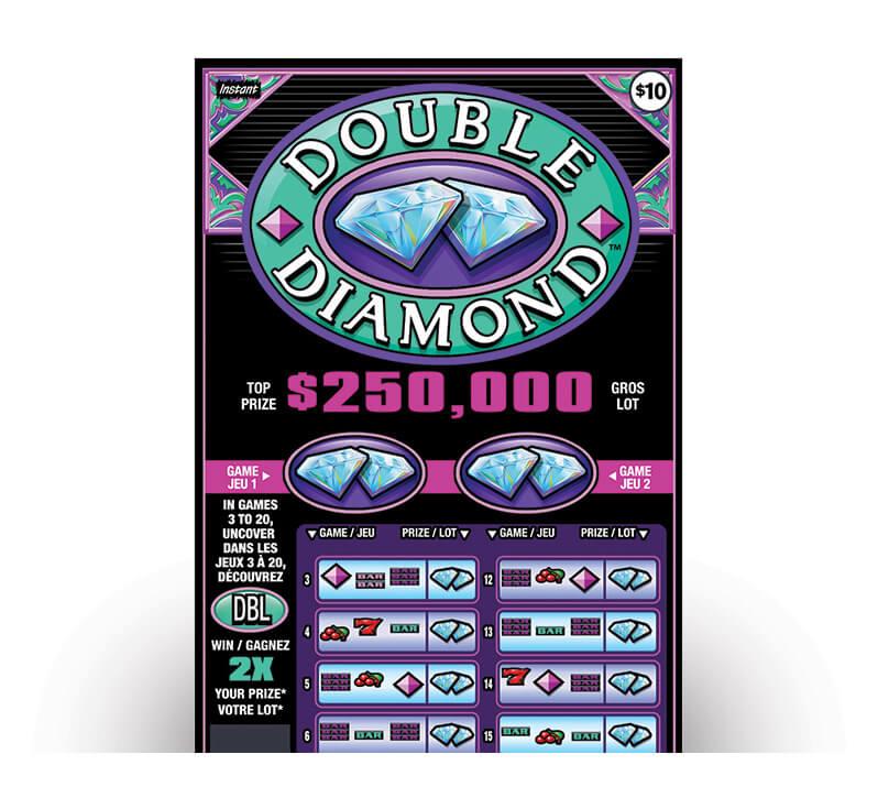 billet double diamond 2132