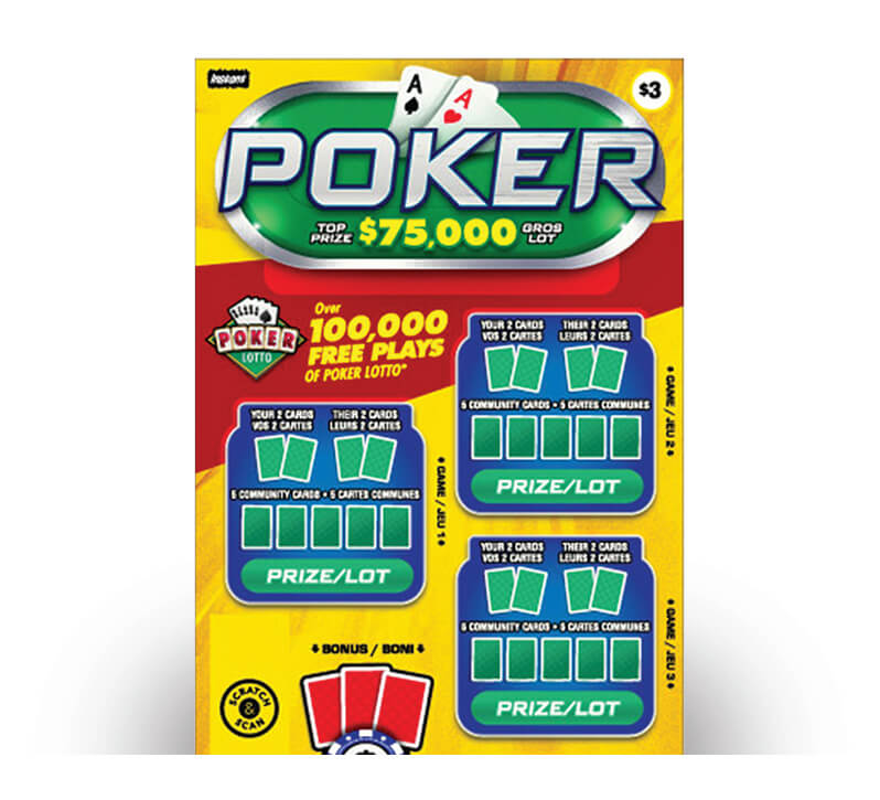 Poker 2134 ticket