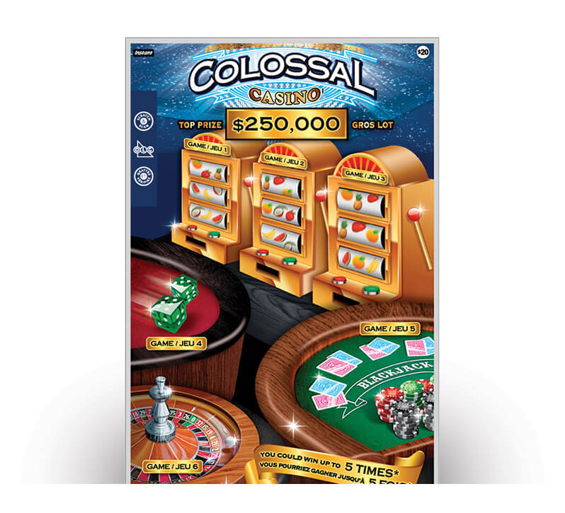 Billet colossal casino 2140