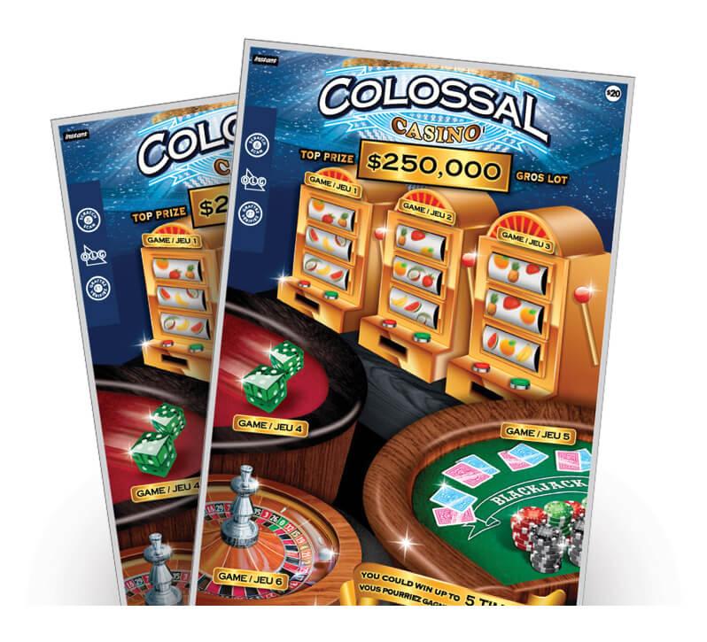 COLOSSAL casino 2140 tickets