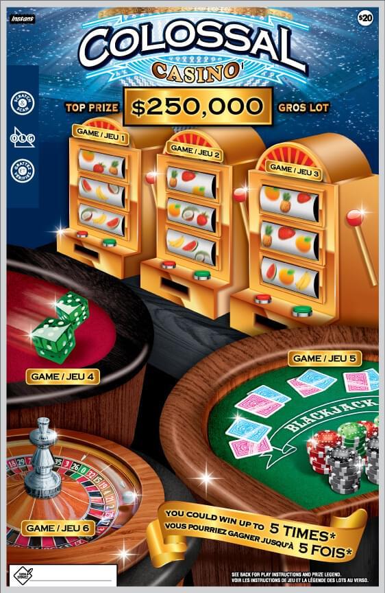 colossal casino 2140 ticket