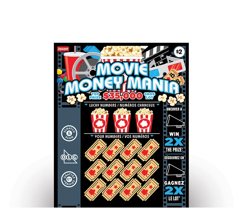 Billet Movie Money Mania 2149