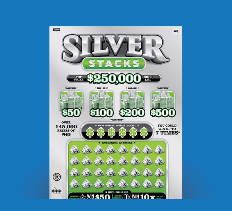 Silver Stacks 2152 ticket