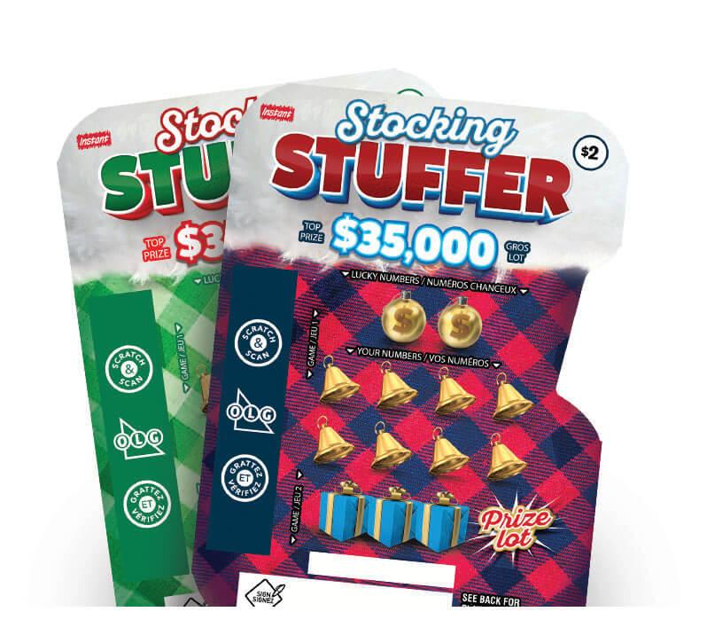 Stocking Stuffer 2163 tickets