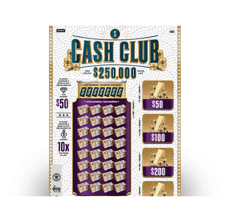 Billet Cash Club 2168