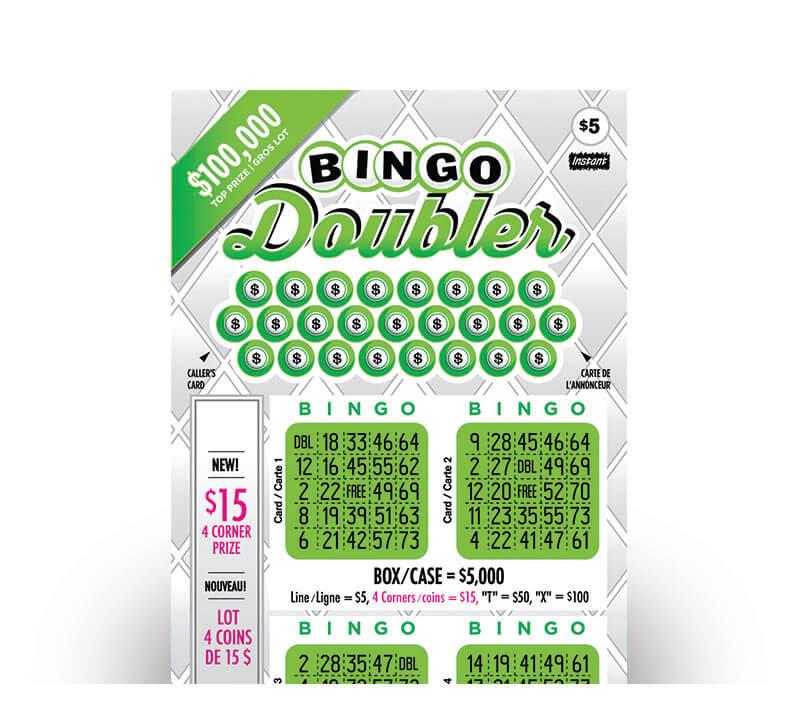 Bingo Doubler 2171 ticket