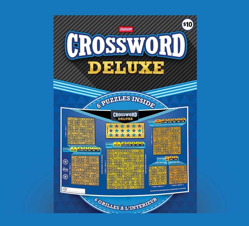 Crossword Deluxe 2173 ticket