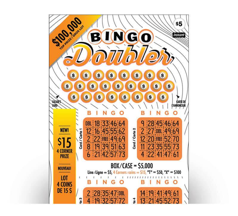 Bingo Doubler 2180 ticket